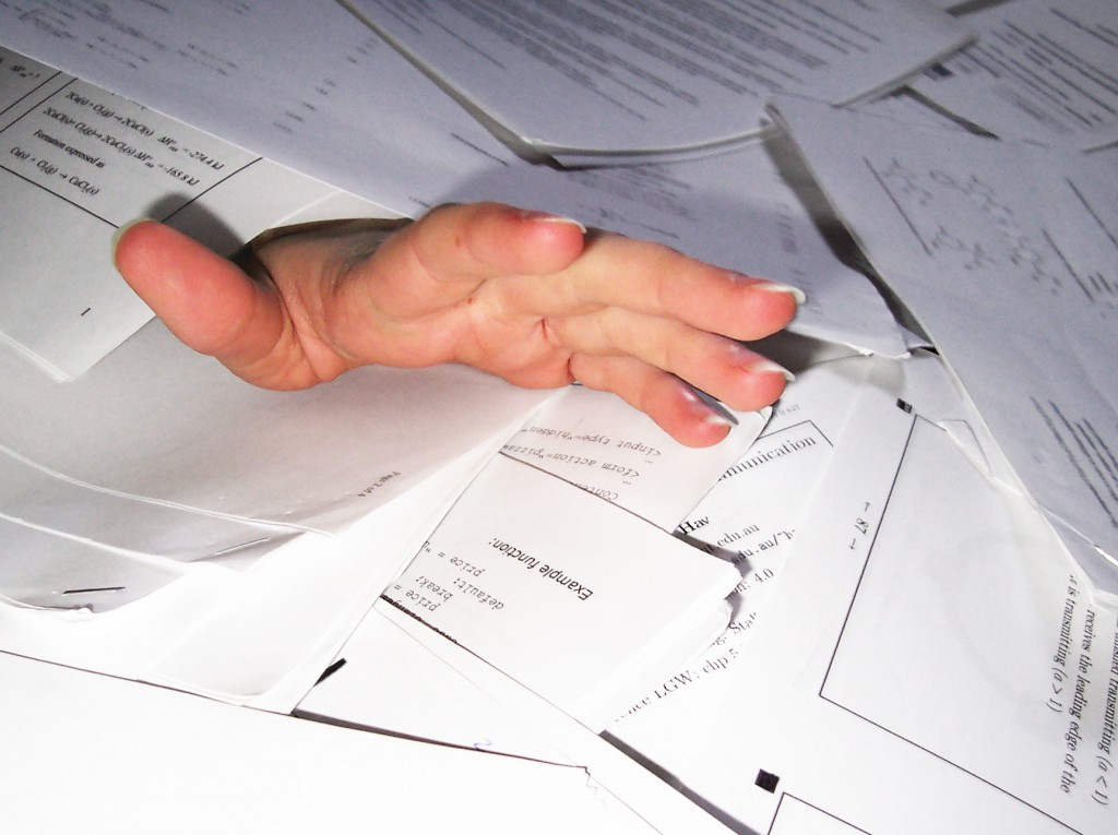 Paperwork - CV, Supporting Statement, School's Application Form, where does it end?