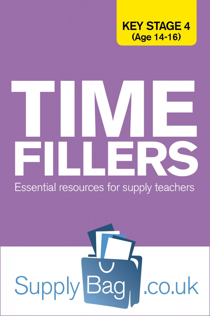 Time filler activities for KS4 supply teachers and cover supervisors