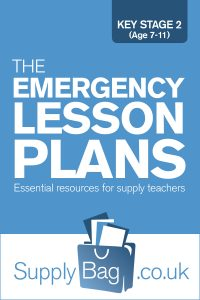 Lesson plans for supply teachers