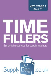 Time fillers for supply teachers, essential resources for supply teaching KS2
